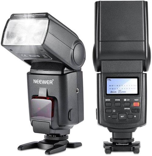 安価なのにとても明るいストロボ・NEEWER NW680/TT680
