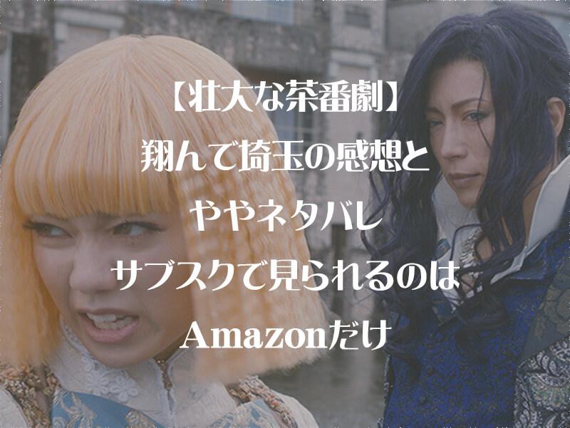 【壮大な茶番劇】翔んで埼玉の感想とややネタバレ・サブスクで見られるのはAmazonだけ