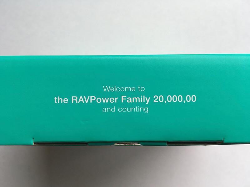 the RAVPower Family 20,000,00