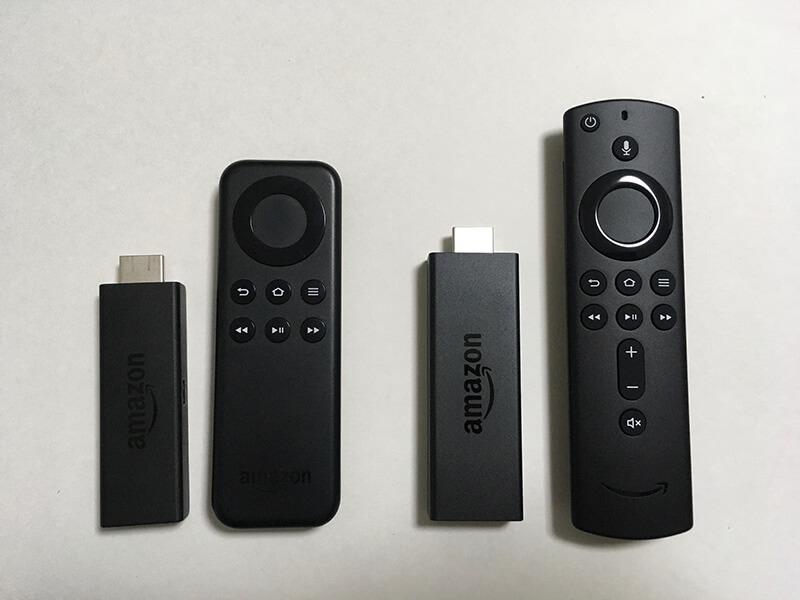 初代FireTVstickと第2世代FireTVstickの違い