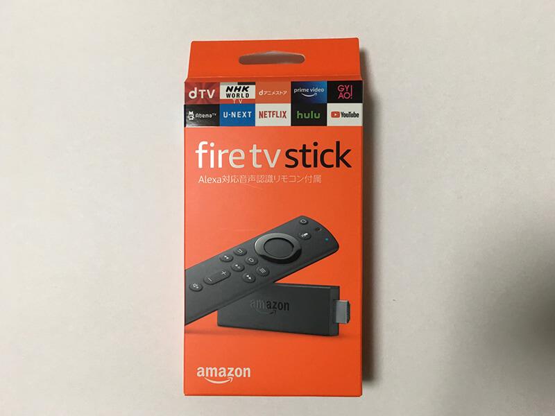 AmazonのFireTVstickってどんなものなの?